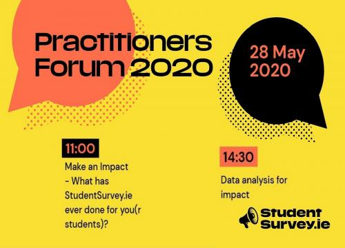 The StudentSurvey.ie Practitioners Forum 2020