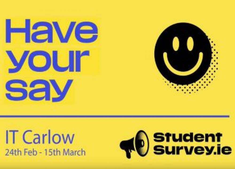 StudentSurvey.ie in IT Carlow