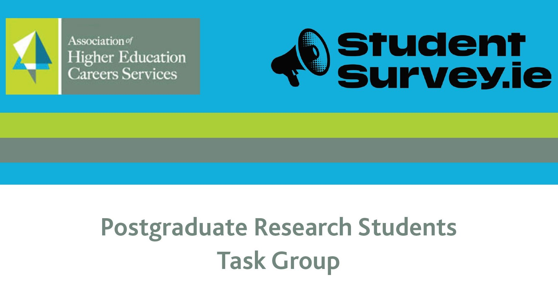 AHECS Postgraduate Research Students Task Group report cover