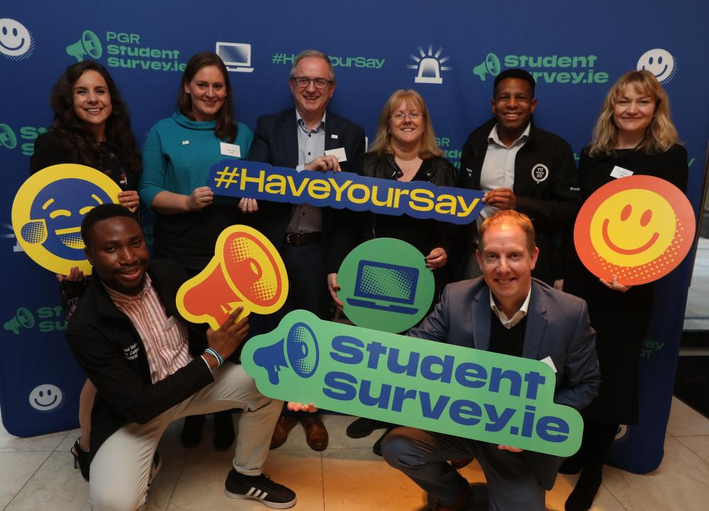 Photo 3 from launch of StudentSurvey.ie